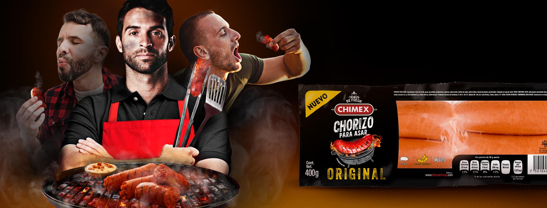 Chorizo para Asar Original