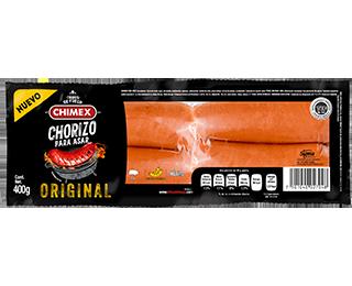 Empaque Chorizo para Asar Chimex